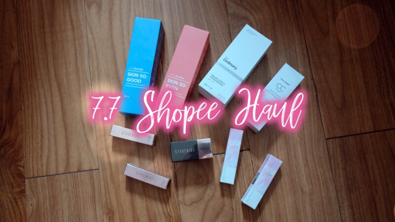 The Roundup - 7.7 Shopee Haul